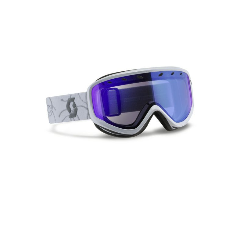 SCOTT Brýle  Capri White/Silver - 1