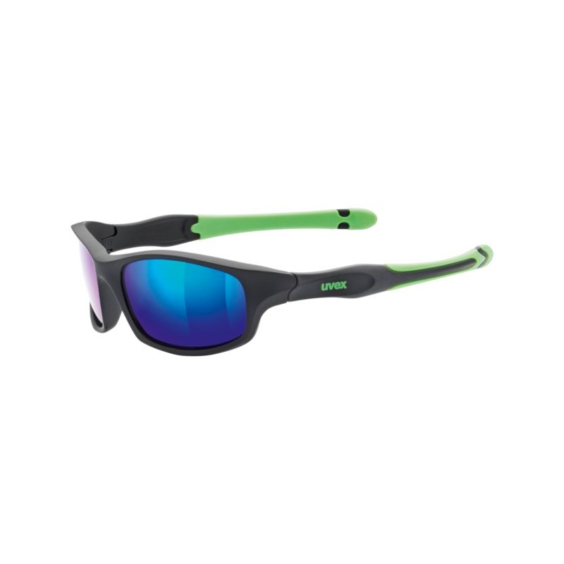 Uvex brýle dětské Sportstyle 507 black mat green - 1