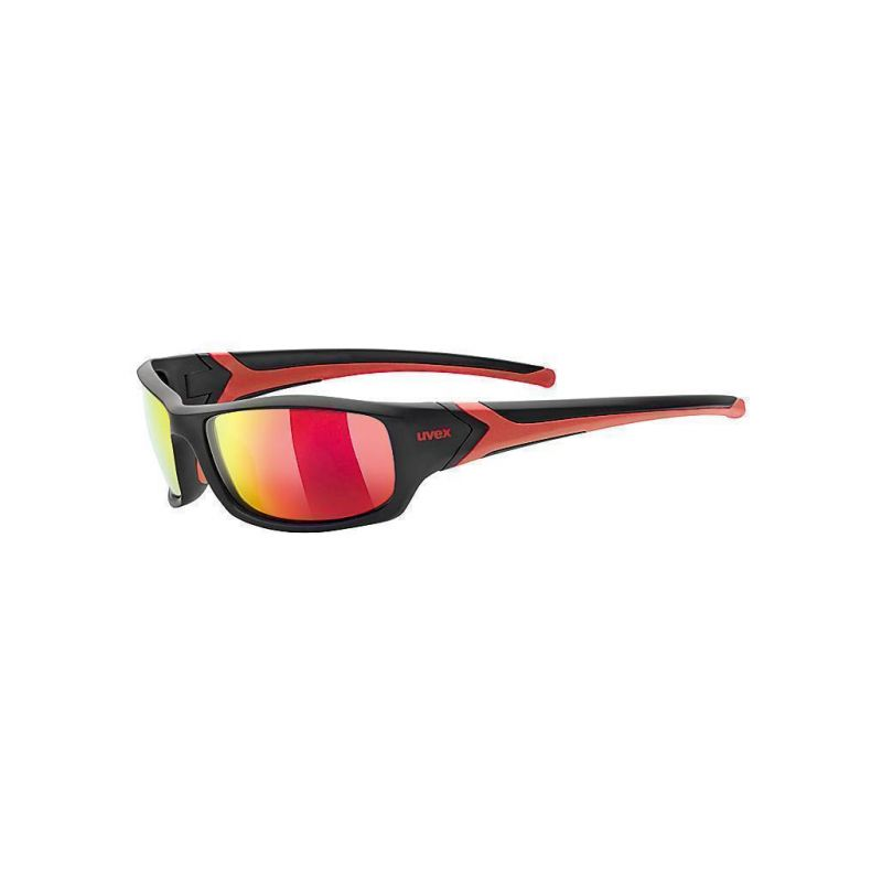 Uvex brýle Sportstyle 211 Black/Red - 1