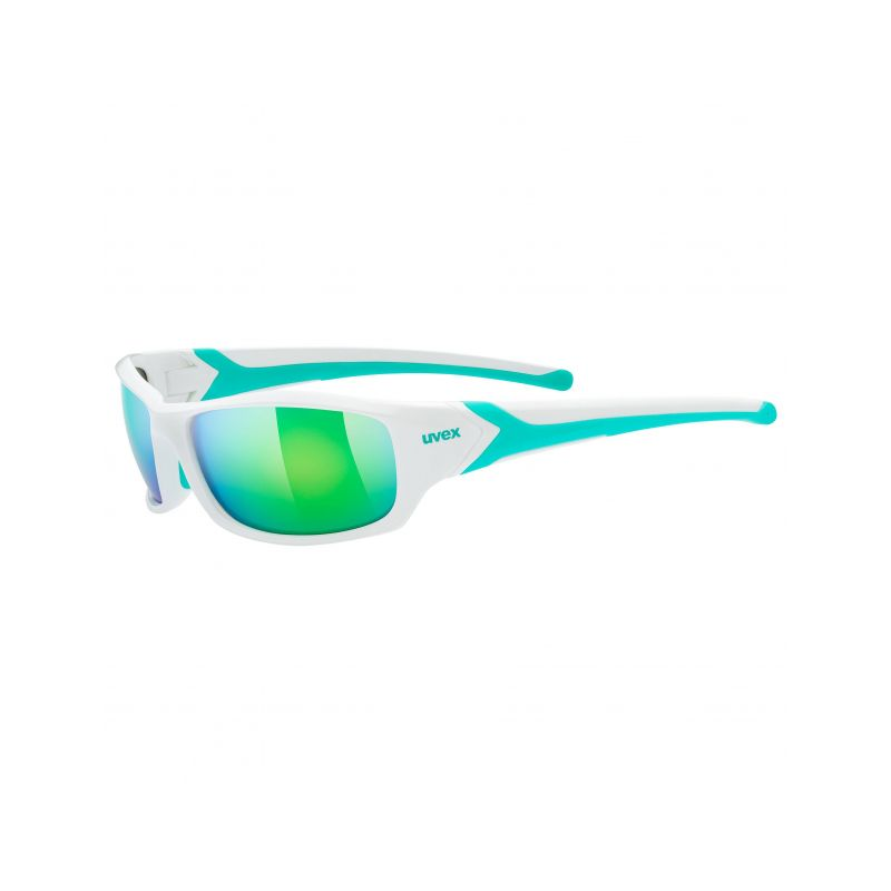 Uvex brýle Sportstyle 211  white/green - 1