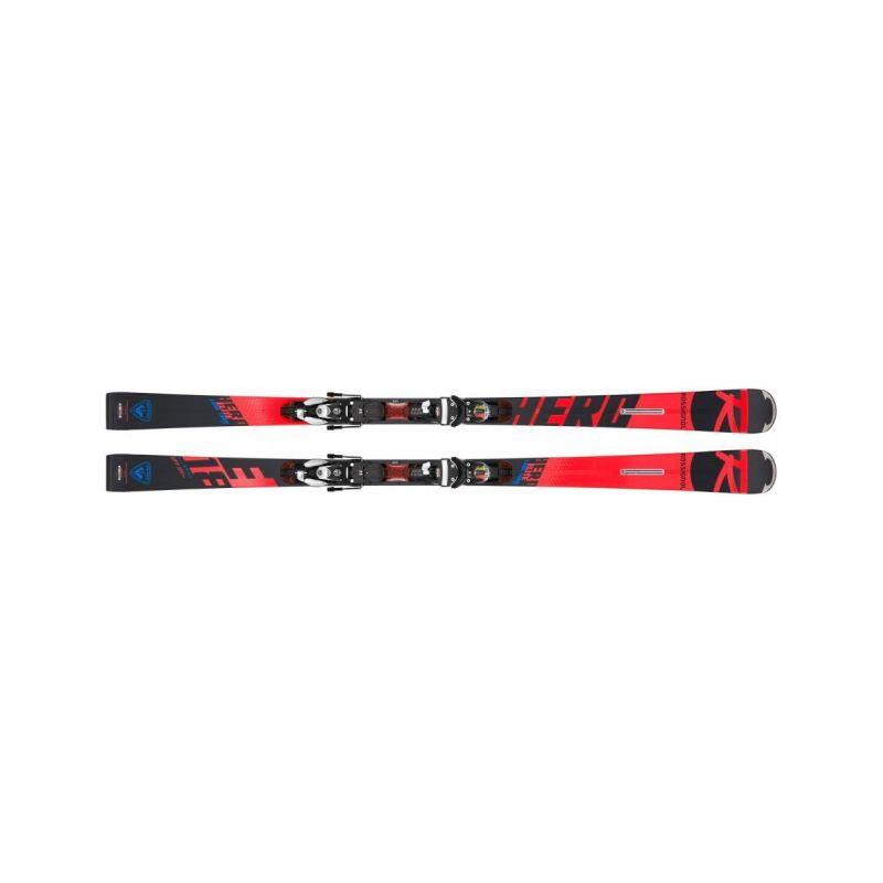 Rossignol lyže sjezdové Hero Elite LT TI  182cm  (set) - 1