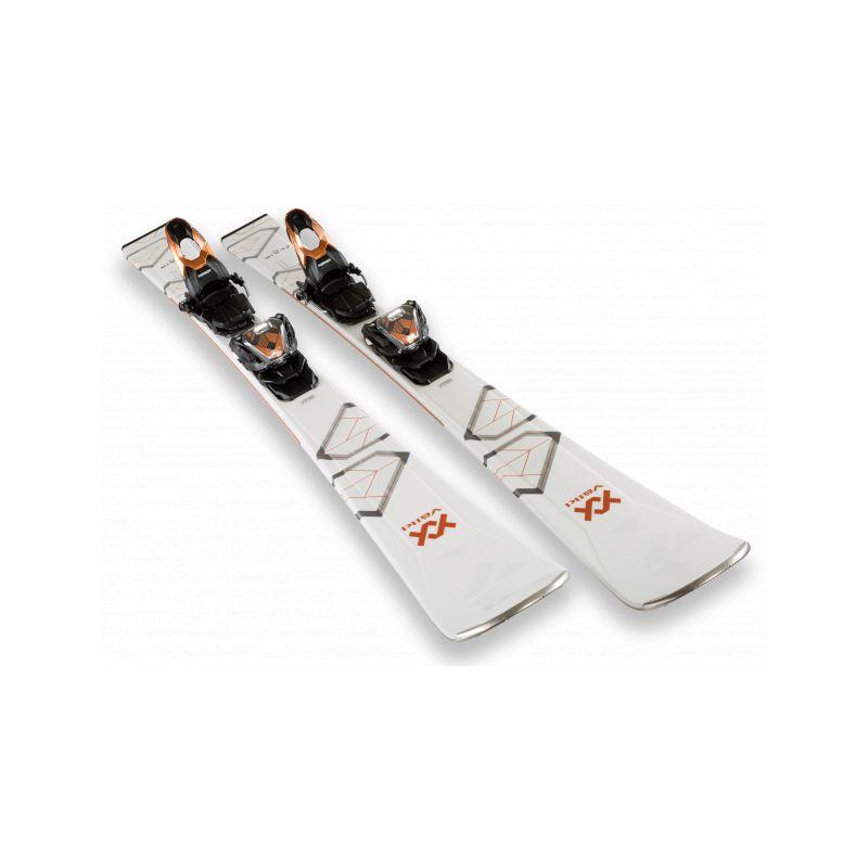 VOLKL lyže sjezdové dámské Flair 76  147cm  set - 1