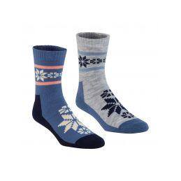 Karitraa Ponožky  Rusa Wool Sock  2pack  vel.39/41 - 1