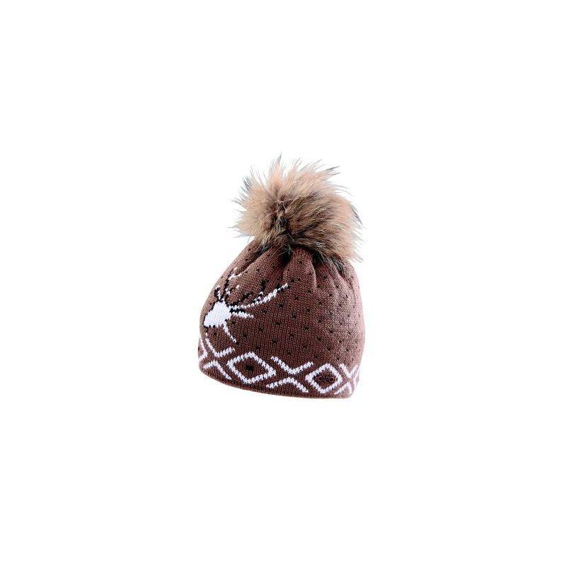 CAPO Čepice Knitted Cap Tradition w. pompon - 1