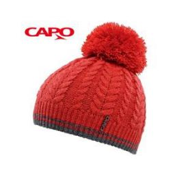 CAPO Čepice Knitted Cap w. Pompon - 1