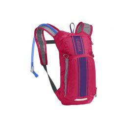 CAMELBAK Mini MULE Hot Pink/Purple Stripe - 1