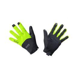 GORE C5 GTX Infinium Gloves-black/neon yellow-11 - 1