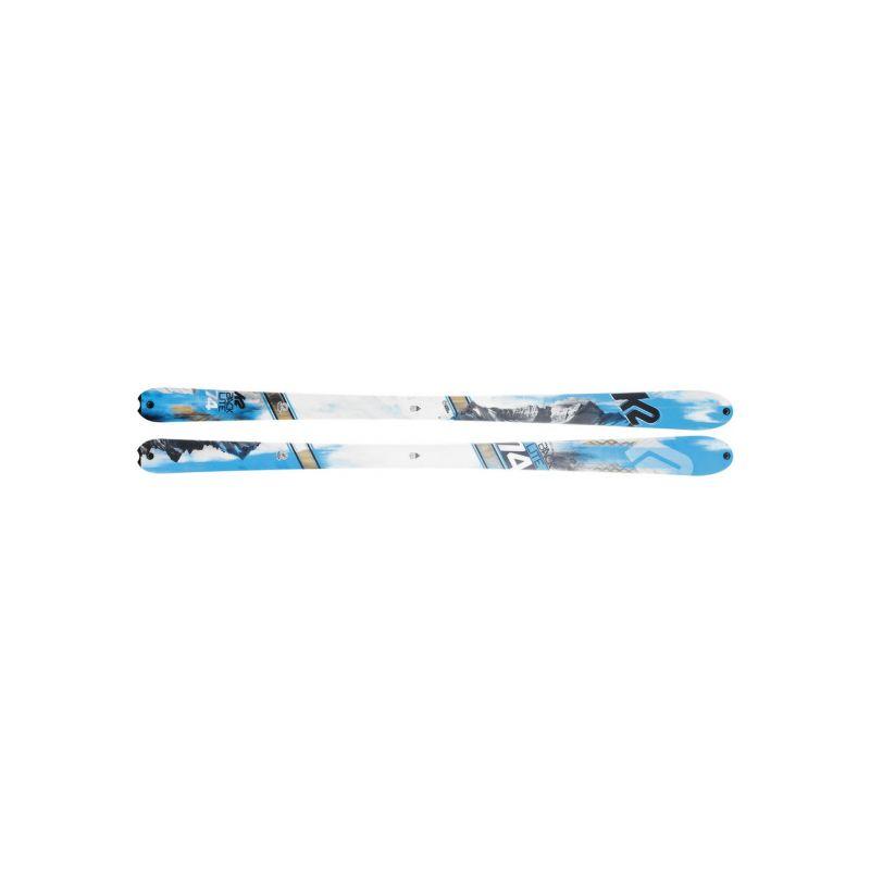 K2 skialpové lyže Backlite 160cm test ski - 1