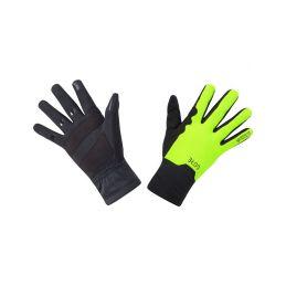 GORE M GTX Infinium Mid Gloves-black/neon yellow-7 - 1