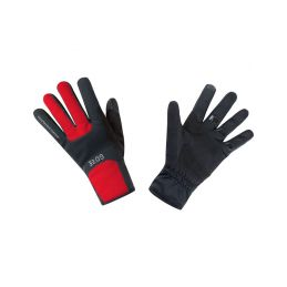 GORE M WS Thermo Gloves-black/red-10 - 1