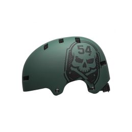BELL Local Mat Green/Black Skull M - 1