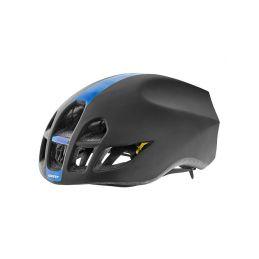 GIANT přilba PURSUIT-matte black/blue pattern-L - 1
