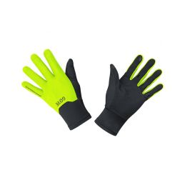 GORE M GTX Infinium Gloves-black/neon yellow-11 - 1