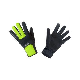 GORE M WS Thermo Gloves-black/neon yellow-10 - 1