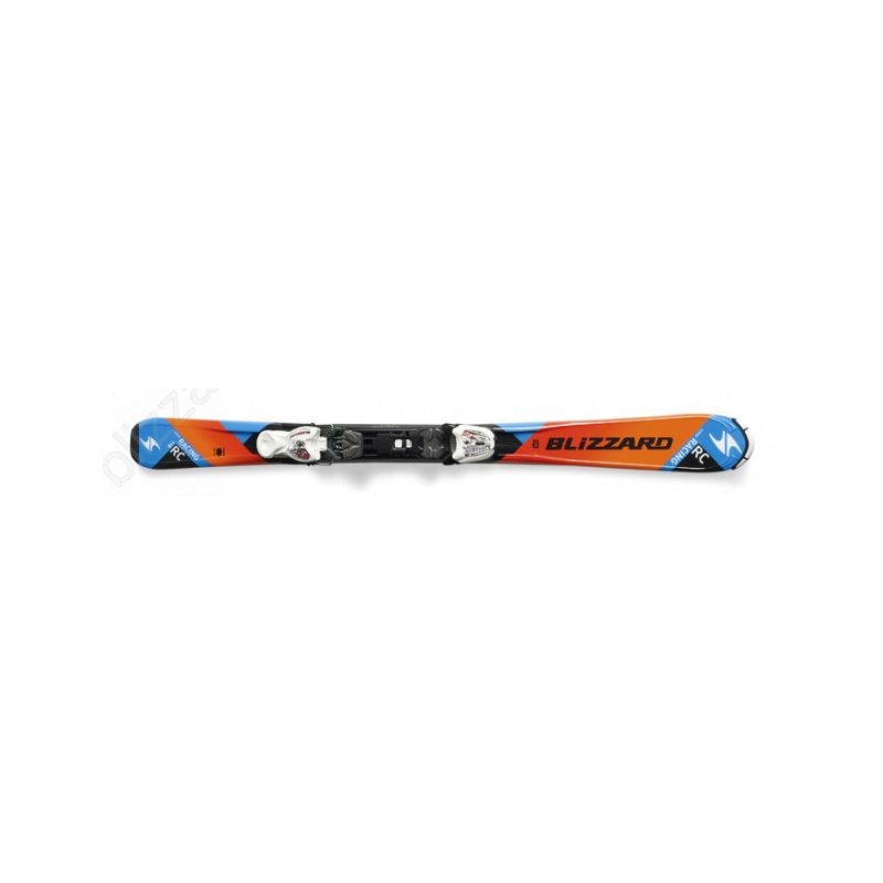 Blizzard lyže RC JR IQ 110cm               orange/black/blue - 1